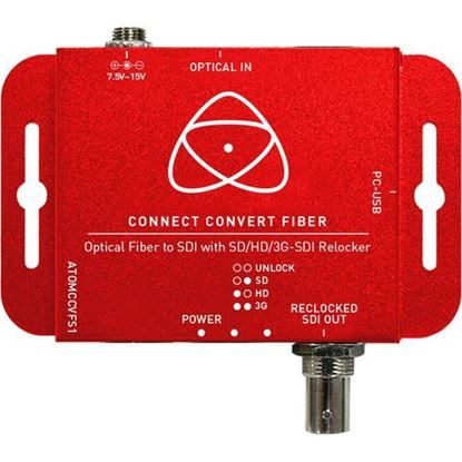 Picture of Atomos Connect Convert Fiber | Fiber to SDI