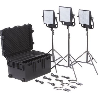 Picture of Litepanels Astra 6X  Traveler Trio Gold Mount Kit