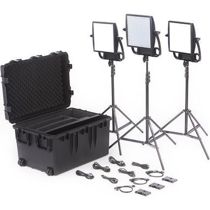 Picture of Litepanels Astra  Soft + Astra 6X Traveler Trio   Gold Mount Kit