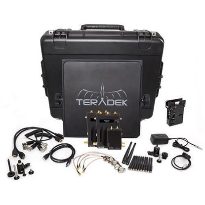 Picture of Teradek Bolt 995-2V Bolt 3000 HD-SDI/HDMI TX/2RX Deluxe V-mount