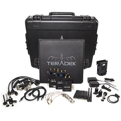 Picture of Teradek Bolt 990-2V Bolt 2000 HD-SDI/HDMI TX/2RX Deluxe V-mount