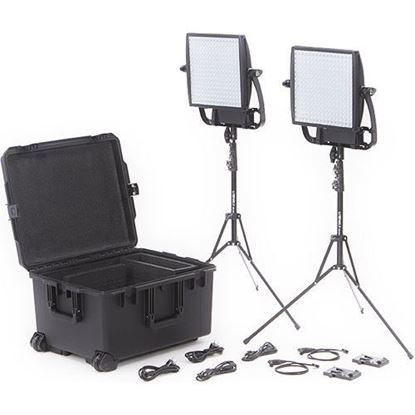 Picture of Litepanels Astra 3X Traveler Duo V-Mount Kit