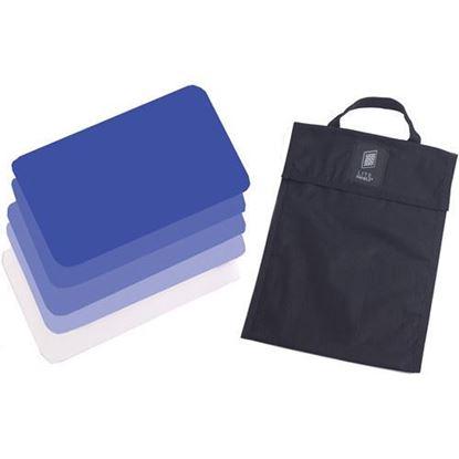 Picture of Litepanels Hilio T12 5-Piece CTB Gel Set with Gel Bag