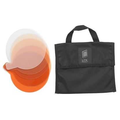 Picture of Litepanels Sola 6 5-Piece CTO Gel Set with Gel Bag
