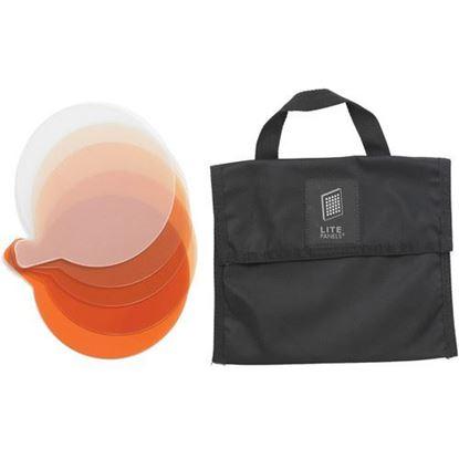 Picture of Litepanels Sola 4 5-Piece CTO Gel Set with Gel Bag