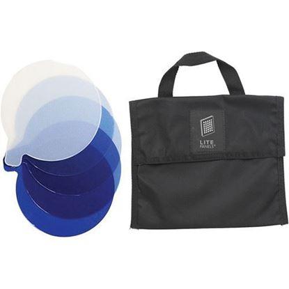Picture of Litepanels Inca 4 5-Piece CTB Gel Set with Gel Bag