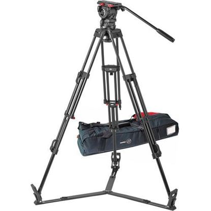 Picture of Sachtler FSB 10 ENG 2 D Aluminum Tripod System with Sideload Plate (100mm)