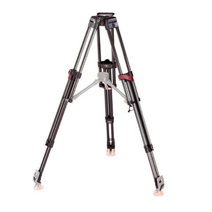 Picture of Sachtler Speed-Lock CF HD Carbon Fiber 2-Stage Heavy-Duty Tripod Legs (100mm Bowl)