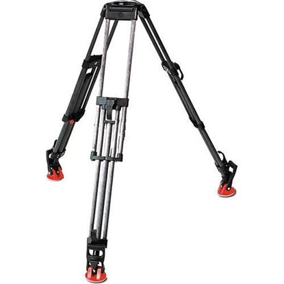 Picture of Sachtler CF-100ENG 2CF Carbon Fiber 2-Stage Tripod Legs (100mm Bowl)