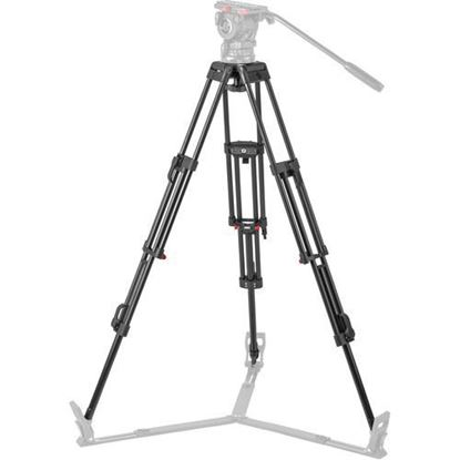 Picture of Sachtler DA-100 ENG 2D Aluminum 2-Stage Tripod Legs (100mm Bowl)