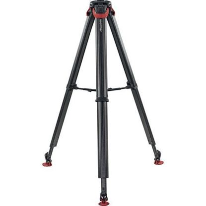 Picture of Sachtler Flowtech 75 MS Carbon Fiber Tripod with Mid-Level Spreader and Rubber Feet
