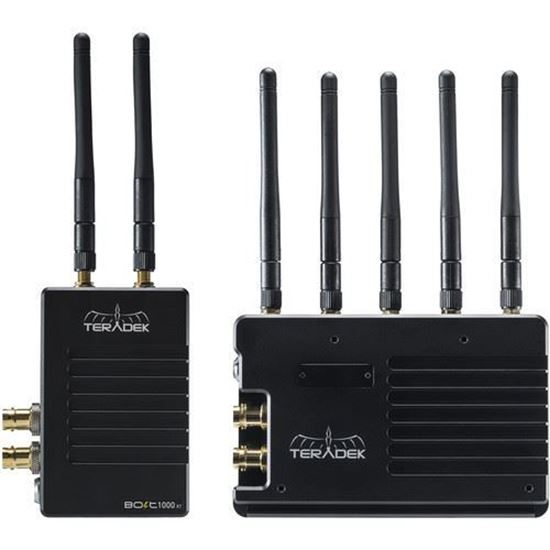 Picture of Teradek Bolt 1965-1G Bolt XT 1000 SDI/HDMI Wireless TX/RX Deluxe AB