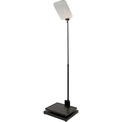 "Picture of Autocue Manual Conference Stand, Glass and Professional Series 17"" Monitor"