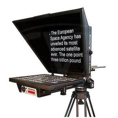 "Picture of Autocue Master Series 17"" Prompter with Medium Wide Angle Hood and Pro Plate"