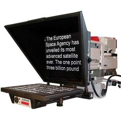 "Picture of Autocue Master Series 20"" Prompter with Large Wide Angle Hood and Pro Plate"