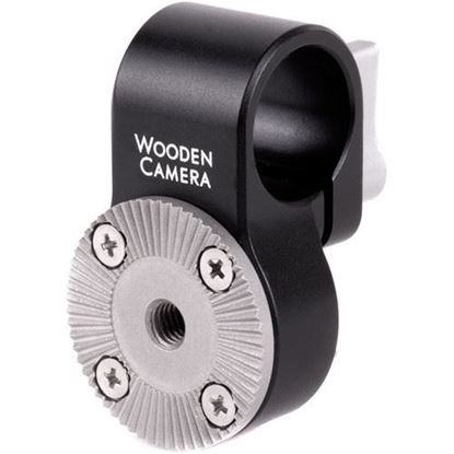 Picture of Wooden Camera - 19mm Rod Clamp to ARRI Rosette