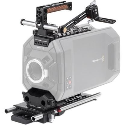 Picture of Wooden Camera - Blackmagic URSA Accessory Kit (Pro, 15mm Studio)