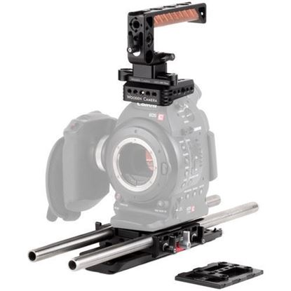Picture of Wooden Camera - Canon C100, C100mkII Unified Accessory Kit (Base)