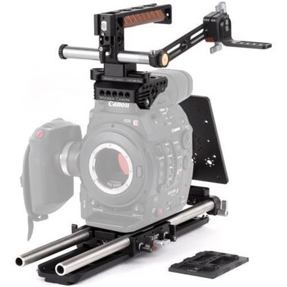 Picture of Wooden Camera - Canon C300mkII Unified Accessory Kit (Pro)