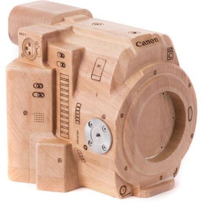Picture of Wooden Camera - Wood Canon C200 Model
