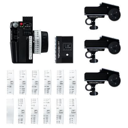 Picture of Teradek RT CTRL.3 Deluxe Wireless Lens Control Kit (3-Motor)