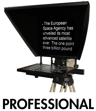 Picture for category Professional Series Teleprompters