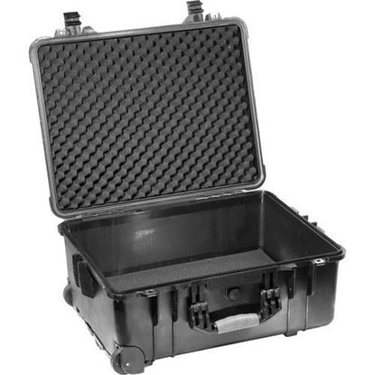 Picture of Kinotehnik 1560 Injection-Molded Waterproof Wheeled Case for 2-3 Light Kit with Stands
