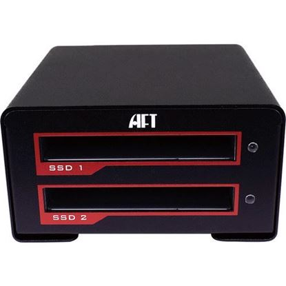 Picture of Atech Flash Technology Blackjet VX-2SSD USB 3.1 Gen 2 Type-C RAID Enclosure
