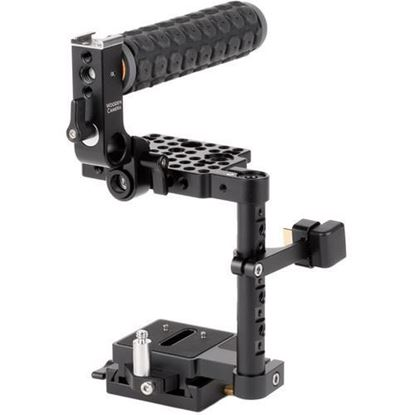 Picture of Wooden Camera - Unified BMPCC4K / BMPCC6K Camera Cage (Blackmagic Pocket Cinema Camera 4K / 6K) with Rubber Grip