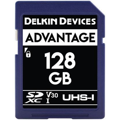 Picture of Delkin Devices 128GB Advantage UHS-I SDXC Memory Card
