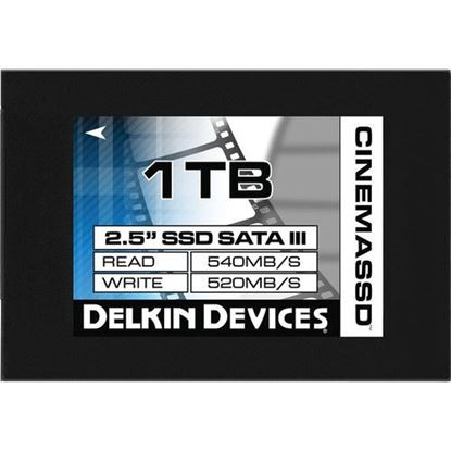 "Picture of Delkin Devices 1TB Cinema SATA III 2.5"" Internal SSD"