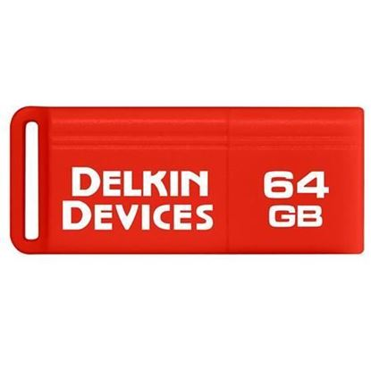 Picture of Delkin Devices 64GB PocketFlash USB 3.0 Flash Drive