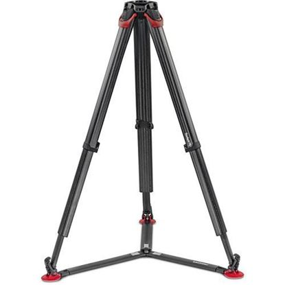 Picture of Sachtler flowtech 75 GS Carbon Fiber Tripod with Ground Spreader
