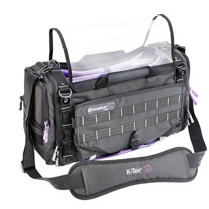 Picture of K-Tek Stingray Large X Purple Audio Mixer Recorder Bag X-Series